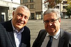 Thami Ghorfi et Jean-François Fiorina : le Maroc se transforme aujourd'hui en un véritable hub économique, financier, politique entre l'Occident et l'Afrique sub-saharienne.