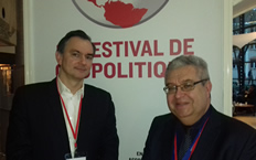 Bruno Tallent et Jean-François Fiorina au Festival de Géopolitique de Grenoble 2018 : quand le management à l'anglo-saxonne rencontre le monde de la publicité, la géopolitique est partie prenante du jeu...