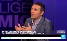 Ali Laidi sur le plateau de France 24, pour sa chronique hebdomadaire consacrée à l'intelligence économique. Une enquête de deux ans dans les coulisses du rouleau compresseur commercial américain.