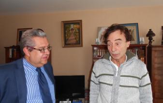J. Fiorina s'entretient avec Odon Vallet