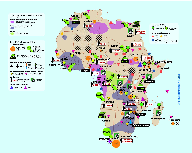 Favori La Chine, à l'assaut des matières premières et de l'Afrique  DR88