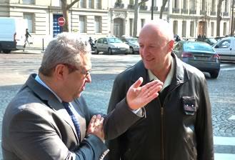 Jean-François Fiorina et Frédéric Hingray : à l'international, il est impératif de resserrer les liens entre l'armée et les entreprises.