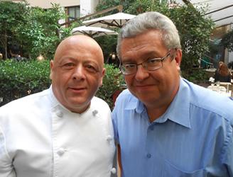 Thierry Marx et Jean-François Fiorina